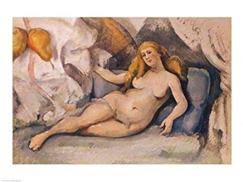 Cezanne -nudo femminile su divano