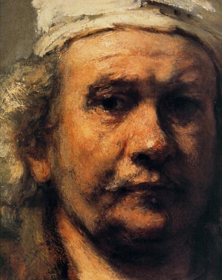 autoritratto di Rembrandt